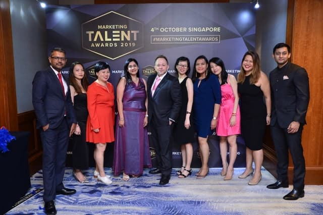 The PRecious team at the first edition of the Marketing Talent Awards (MTA).