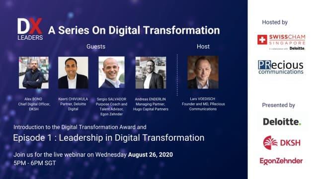 DX Leaders - Leadership in Digital Transformation