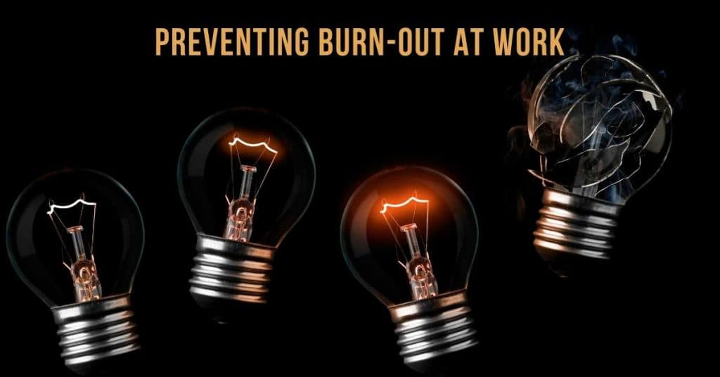 """Lars Voedisch's Comment on Business Times' Views from the Top on """"how do you, as a business leader, cope with or, better yet, prevent burn-out at work"""""""