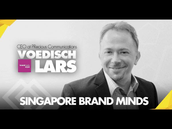 Meet Lars Voedisch, One of Singapore's Brand Minds